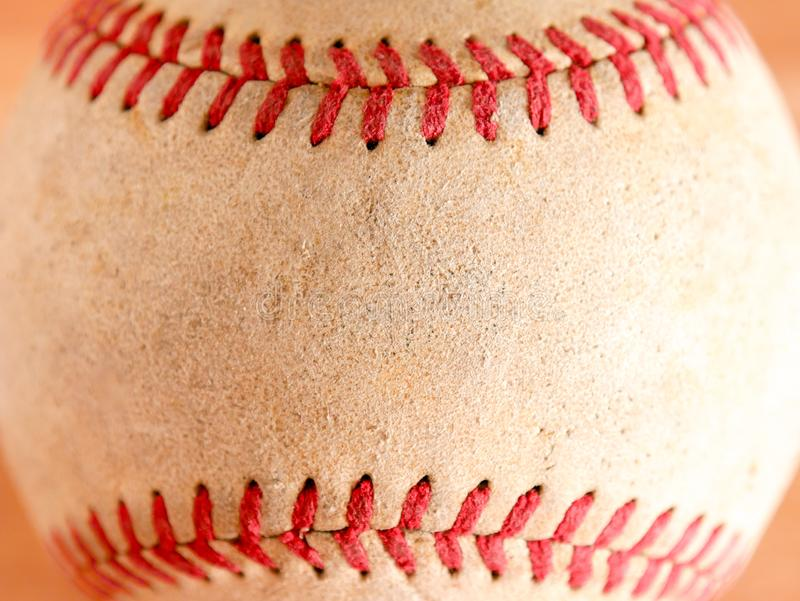 Vieille texture de fond de base-ball d'article de sport photographie stock libre de droits