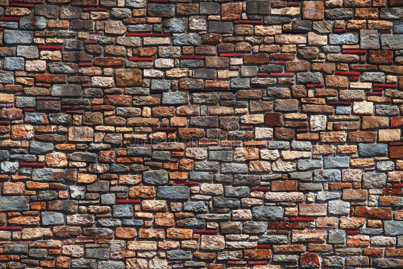 Vieille texture de mur de briques à un arrière-plan photographie stock