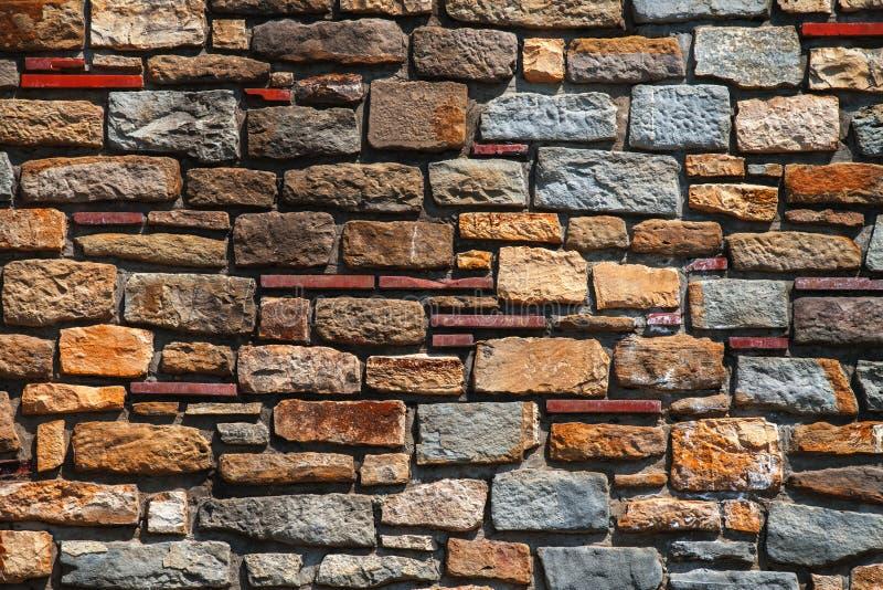 Vieille texture de mur de briques à un arrière-plan image libre de droits