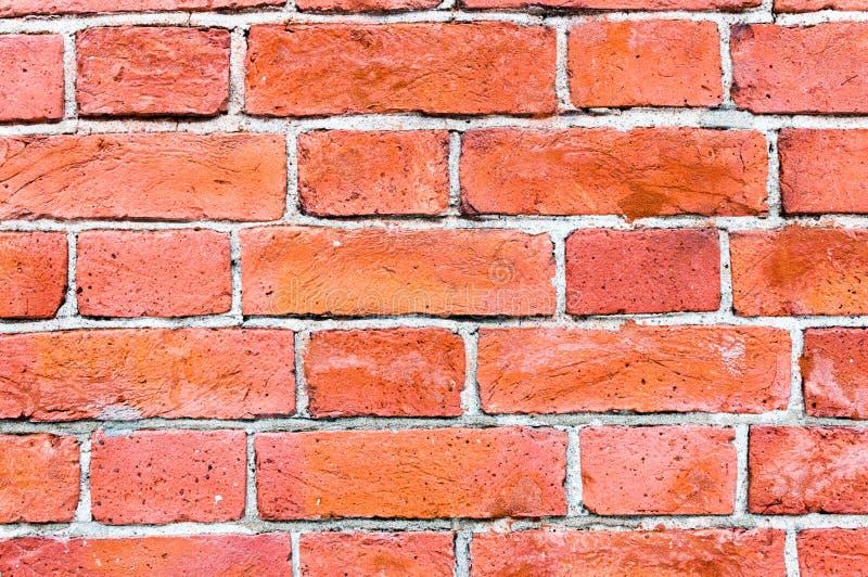 Vieille texture de mur de briques de cru, grande conception pour tous buts photos libres de droits