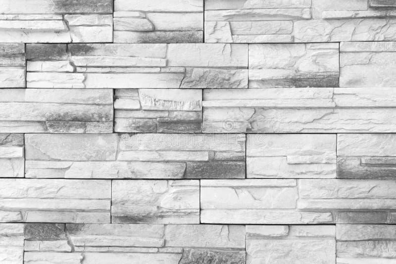 Vieille texture de mur de briques de modèle de mur de briques ou lumière grise de fond de mur de briques pour bâtiment et Br de m image libre de droits