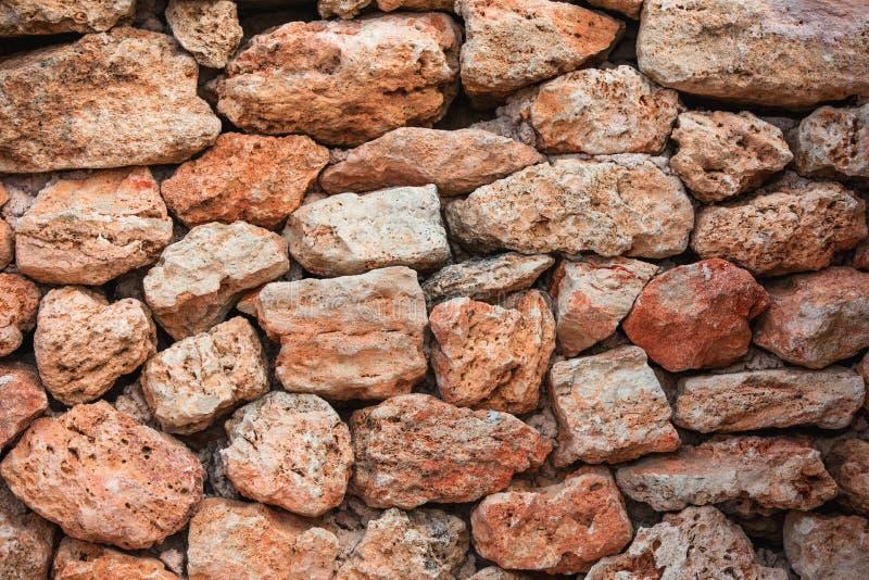 Vieille texture de mur de pierres à un arrière-plan photographie stock