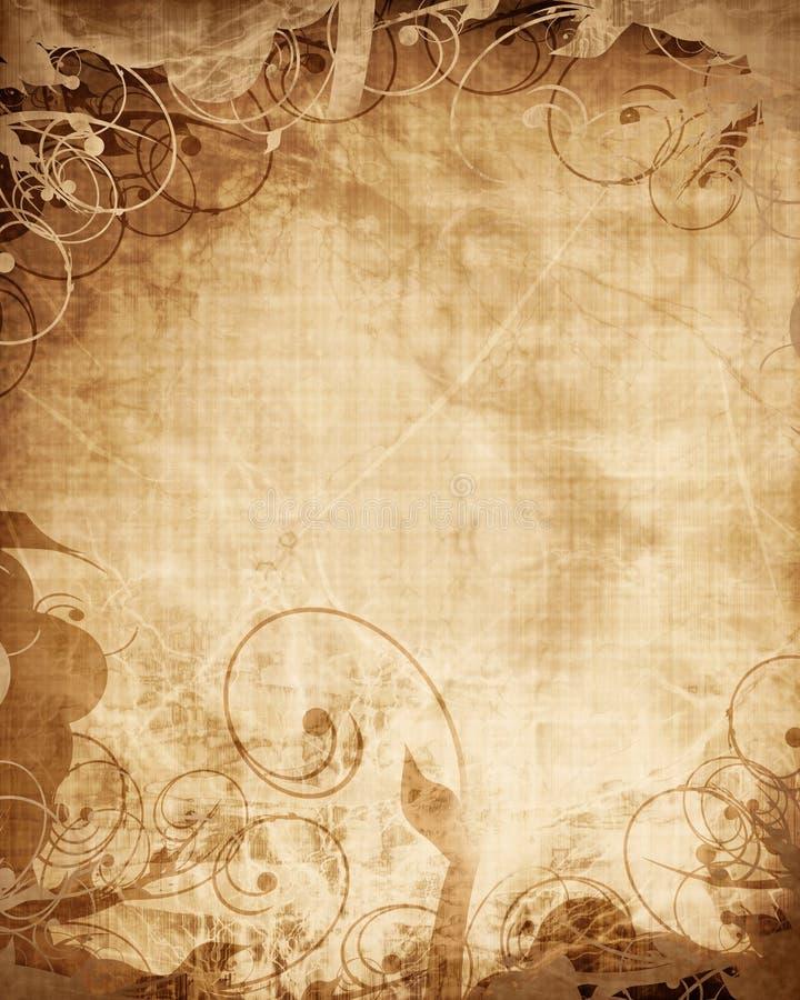 Vieille texture de papier illustration stock