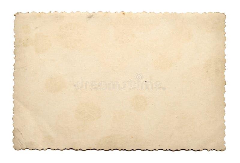 Vieille texture de papier de photo photos libres de droits