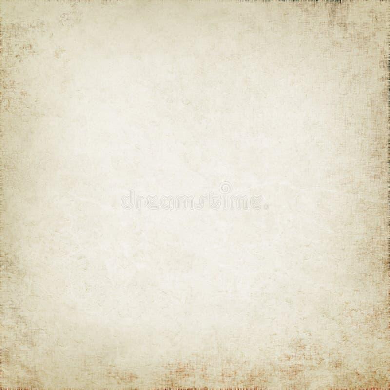 Vieille texture de papier, fond de parchemin de cru illustration libre de droits