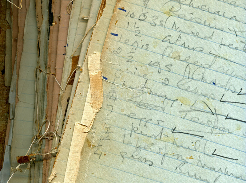 Vieille texture de papier grunge photographie stock