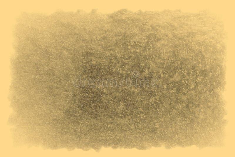 Vieille texture de photo avec des taches et des ?raflures Concept d'art de vintage et d'antiquit? Vue de face de vieux cadre sale photo stock
