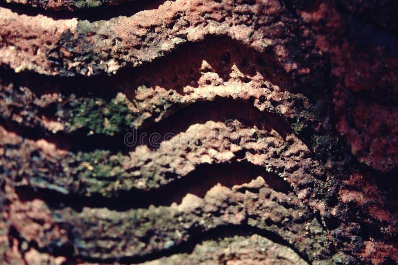 Vieille texture de tuile de toit, couleur de vintage photo libre de droits