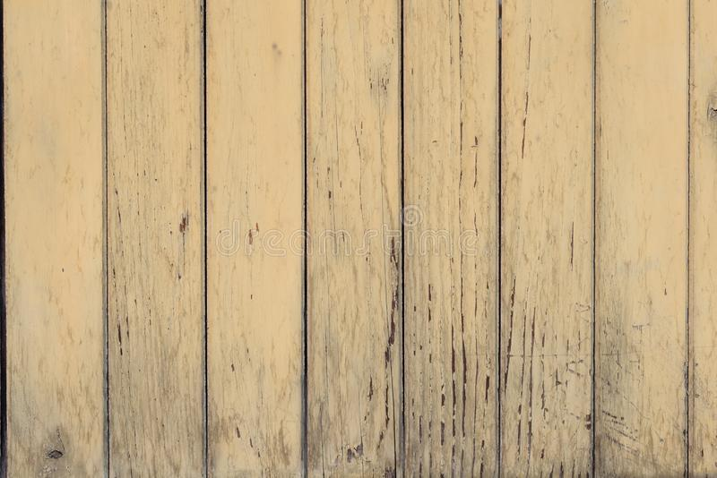 Vieille texture en bois beige, fond Mur en bois, surface Modèle en bois photos stock