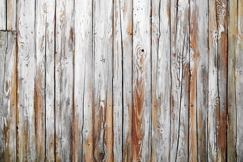 Vieille texture en bois blanche photos stock