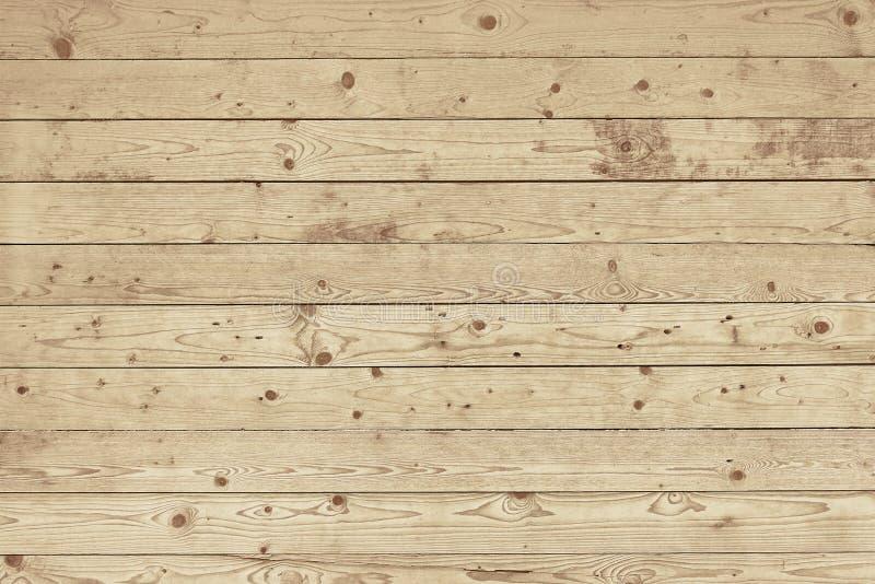 Vieille texture en bois brun clair de fond de barrière photos stock