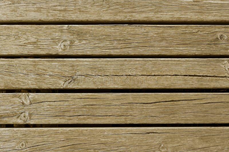 Vieille texture en bois brun clair de fond de barrière photo stock