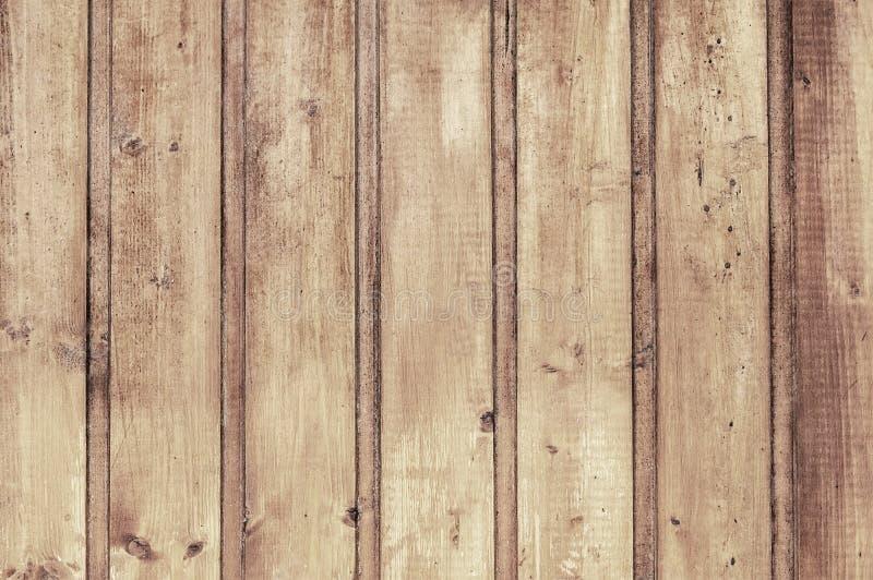 Vieille texture en bois brun clair de fond de porte images stock