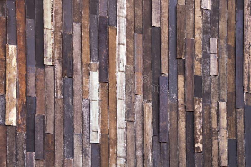 Vieille texture en bois de fond de planche image stock