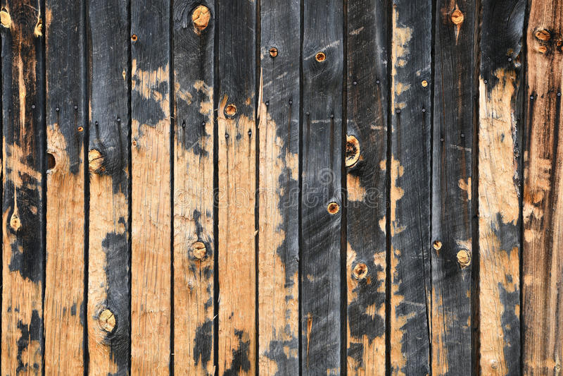 Vieille texture en bois de panneau de grange images libres de droits