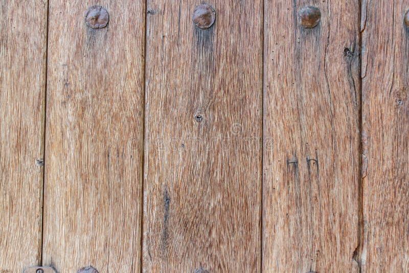 Vieille texture en bois de porte image libre de droits