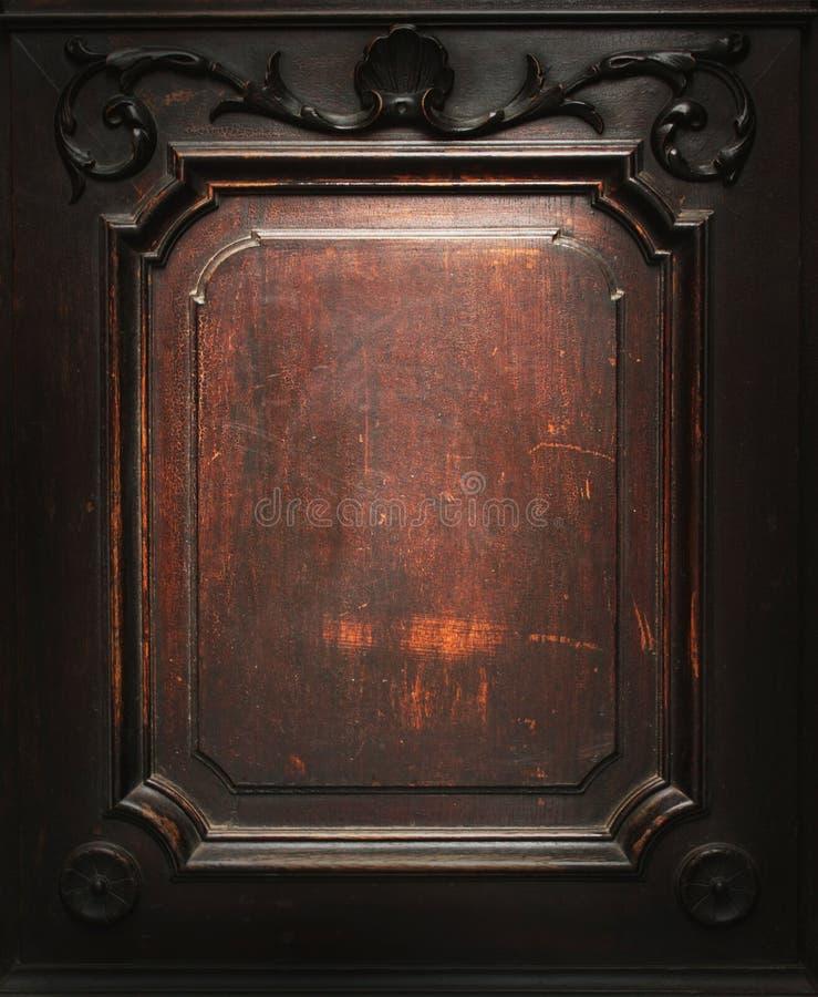 Vieille texture en bois riche d'art image libre de droits