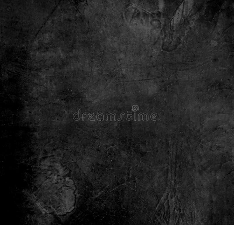 Vieille texture en cuir noire images stock