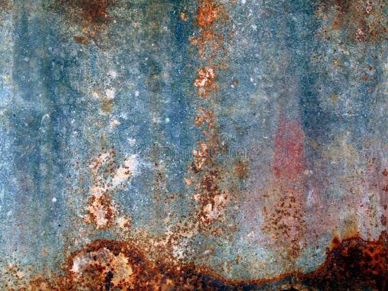 Vieille texture en métal de rouille images stock