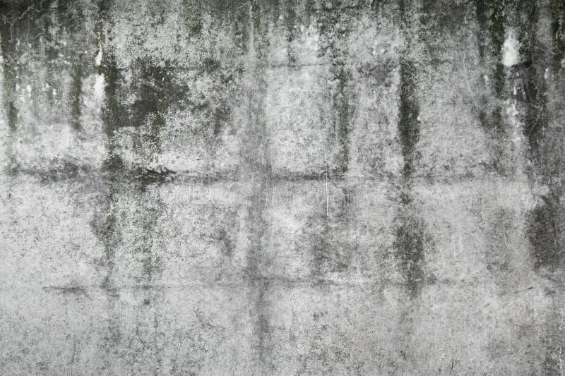Vieille texture gris-foncé de mur en béton photo libre de droits