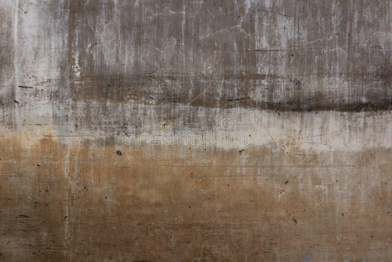 Vieille texture grise de ciment avec la fente, utilisation comme fond image libre de droits