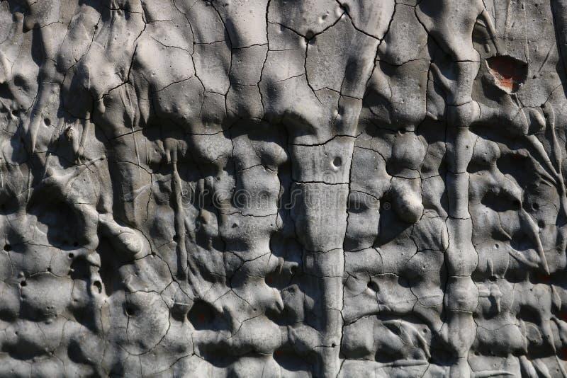 Vieille texture grise de mur images stock