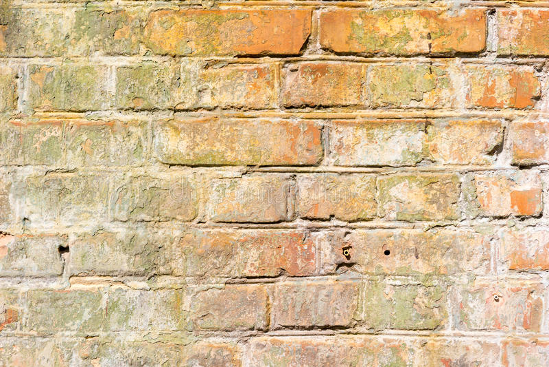Vieille texture grunge de fond de mur de briques photo libre de droits