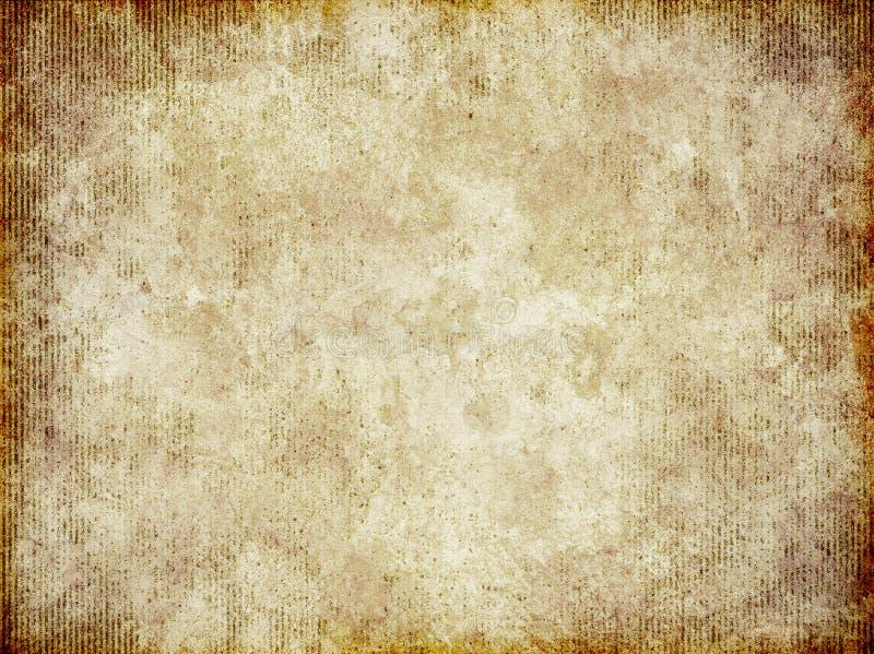 Vieille texture grunge de papier endommagée de fond illustration stock