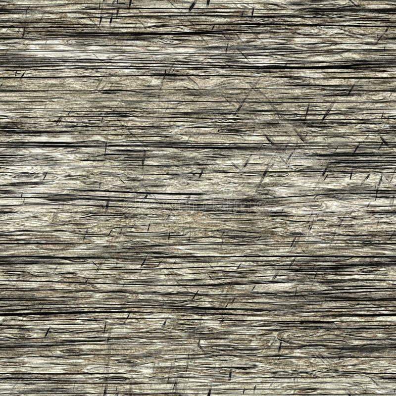 Vieille texture produite sans couture en bois illustration libre de droits