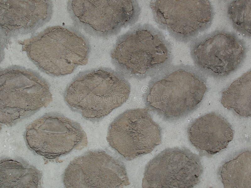 Vieille texture raccordée de mur de barrière image libre de droits