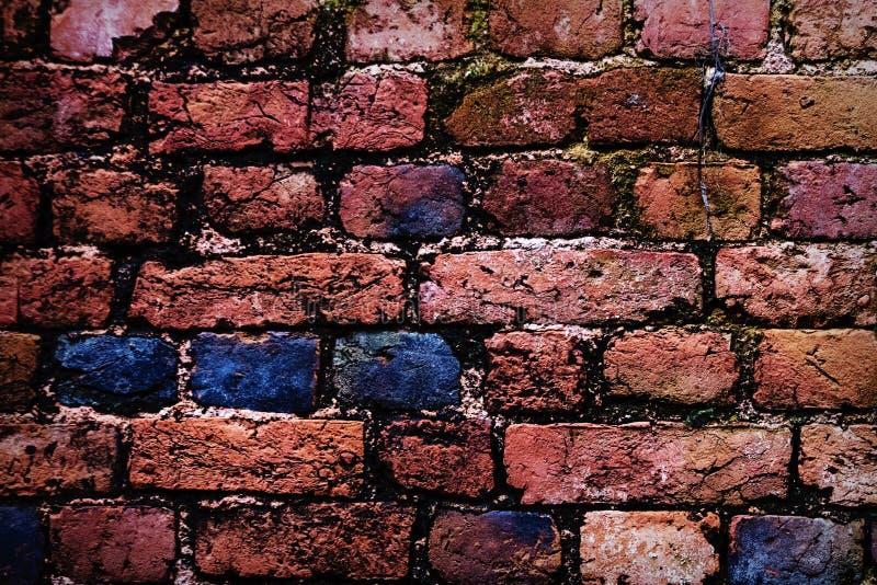 Vieille texture rouge de mur de briques photos libres de droits