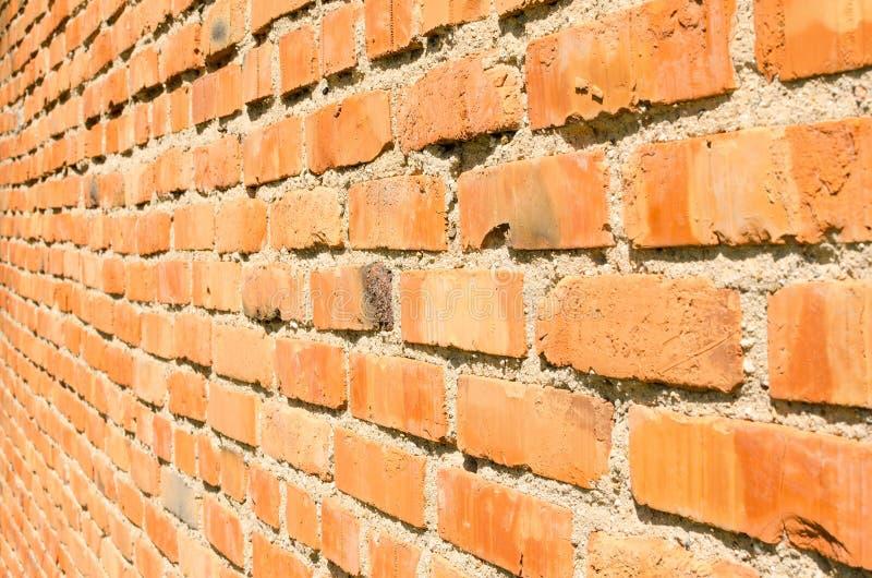 Vieille texture rouge de mur de briques image stock