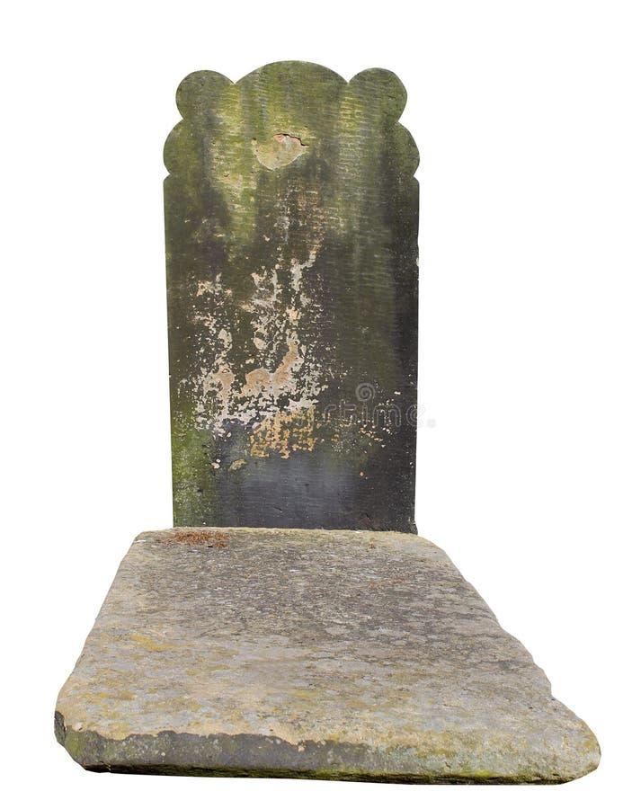 Vieille tombe dans un cimetière photo libre de droits