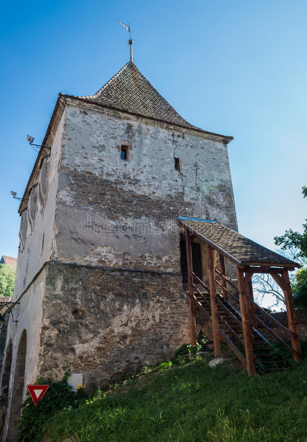 Download Vieille Tour Dans Le Sighisoara Photo stock - Image du comté, fortification: 76077502