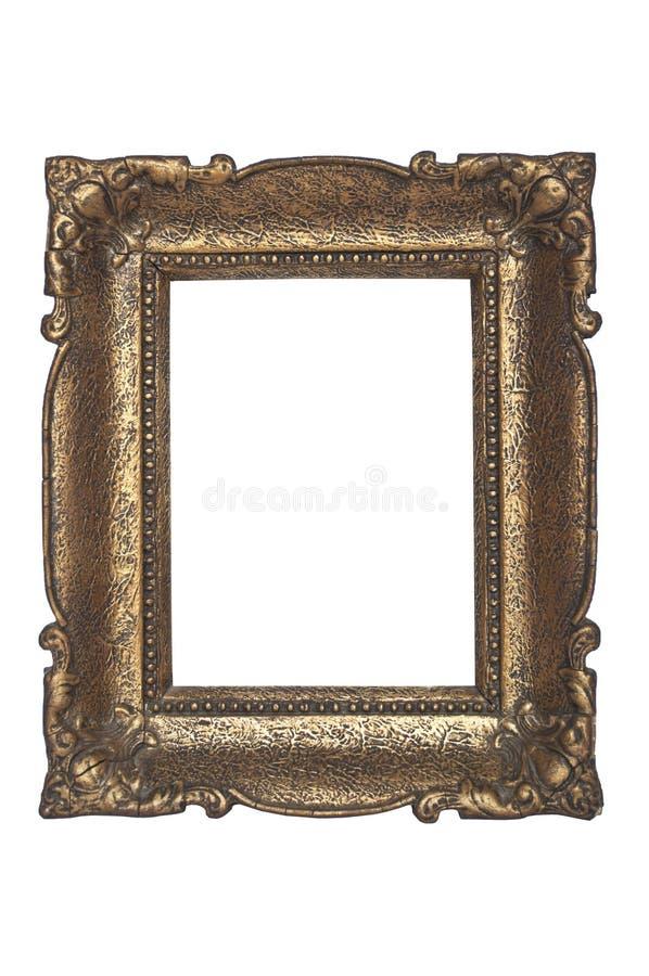 Vieille trame antique d'or image libre de droits