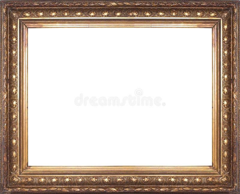 Vieille trame d'or photographie stock libre de droits