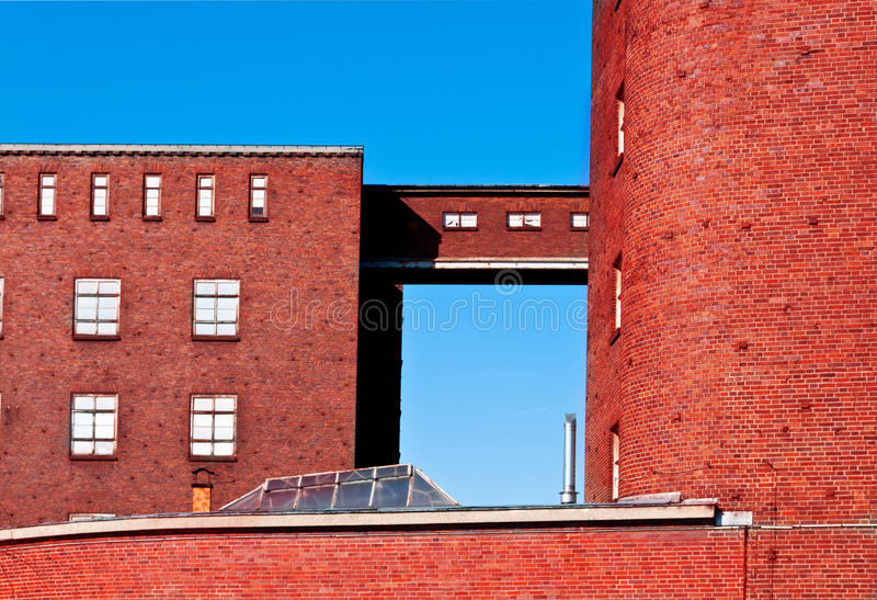 Vieille usine photographie stock