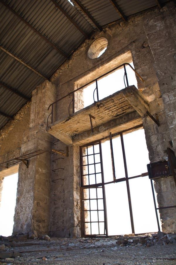 Vieille usine abandonnée photographie stock