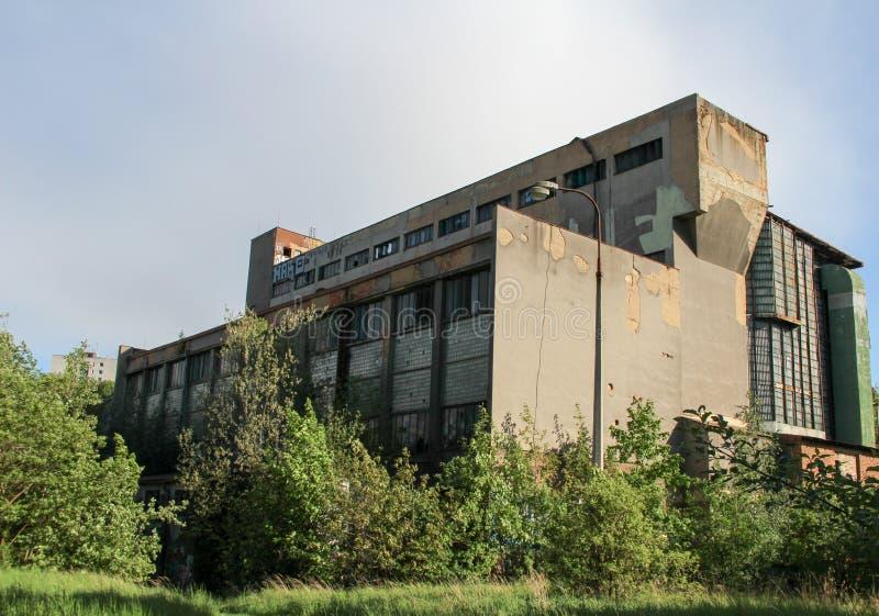 Vieille usine de la chaleur photo libre de droits