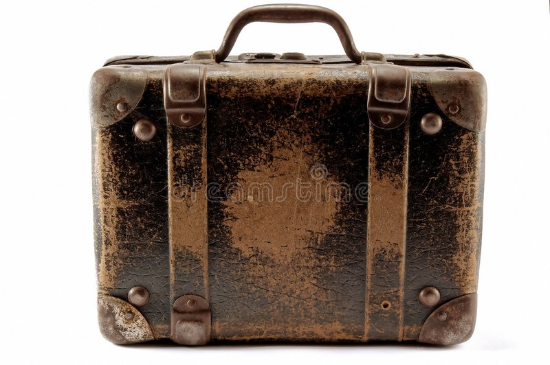 vieille valise image stock image du photo affaires antiquit 6251037. Black Bedroom Furniture Sets. Home Design Ideas