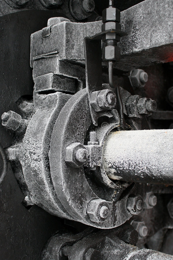 vieille vapeur locomotive photographie stock