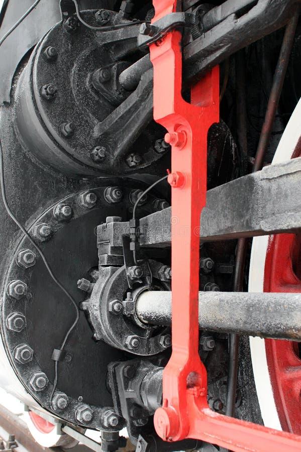 vieille vapeur locomotive images stock