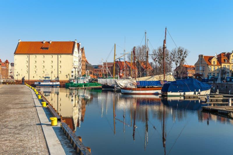 Vieille ville à Danzig photo libre de droits