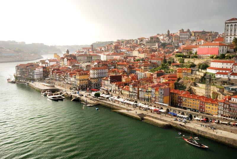 Vieille ville à Porto (Portugal) photographie stock libre de droits