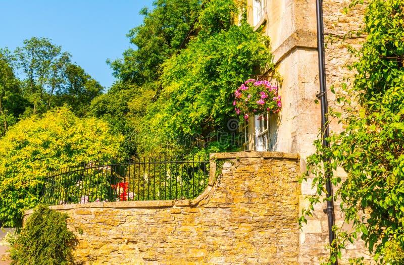 Vieille ville anglaise et beaux bâtiments historiques, vieille rue, h photographie stock libre de droits