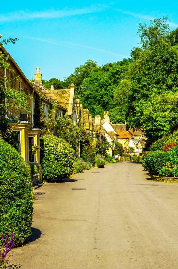 Vieille ville anglaise et beaux bâtiments historiques, vieille rue, h photo libre de droits