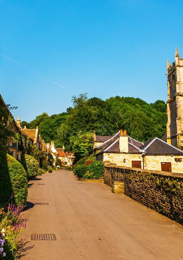 Vieille ville anglaise et beaux bâtiments historiques, vieille rue, h photos libres de droits