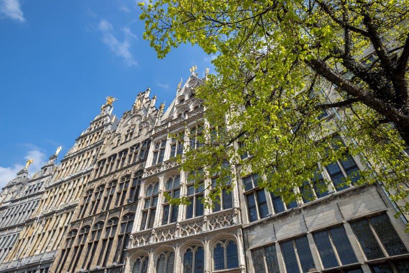 Vieille ville Anvers Belgique images stock