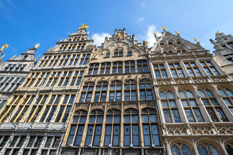 Vieille ville Anvers Belgique image libre de droits