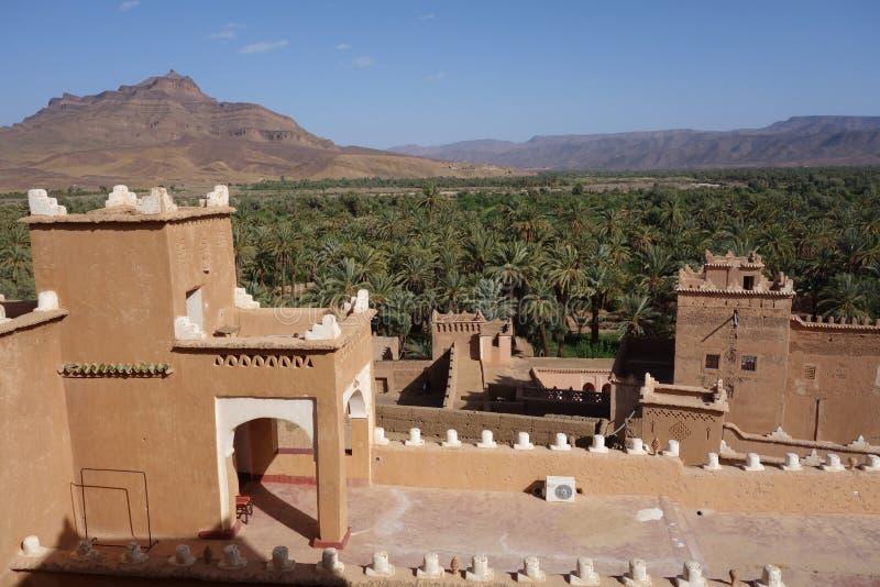 Vieille ville au Maroc, architecture marocaine typique image libre de droits